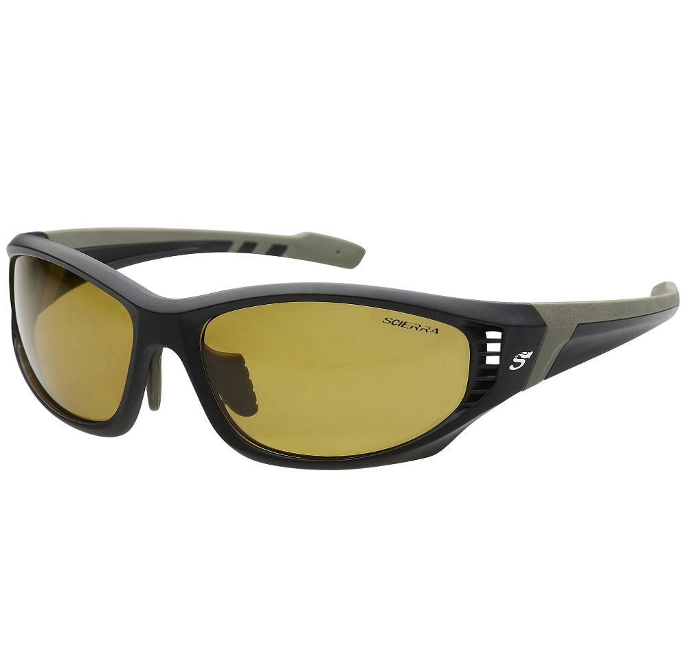 Scierra brýle wrap arround ventilation sunglasses yellow lens
