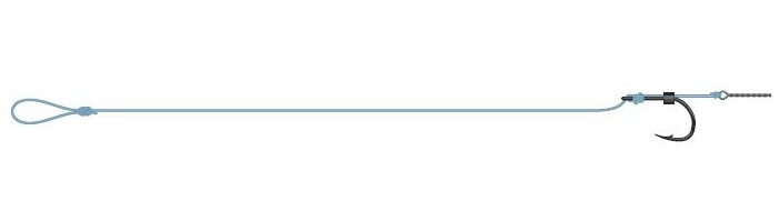 Dam hotový návazec detek method spike rigs - velikost 10 - nosnost 8,8 lbs