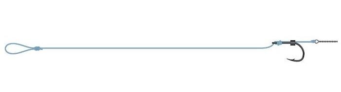 Dam hotový návazec detek method spike rigs - velikost 8 - nosnost 11 lbs
