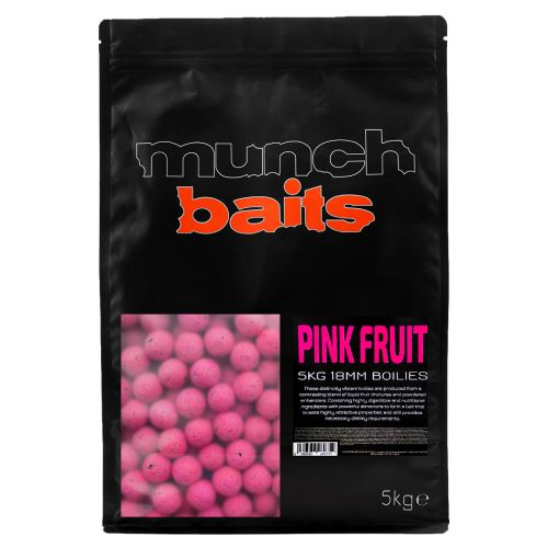 Munch Baits Boilie Pink Fruit