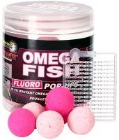 Starbaits Boilie Fluo Plovoucí Omega Fish-80 g - 20 mm