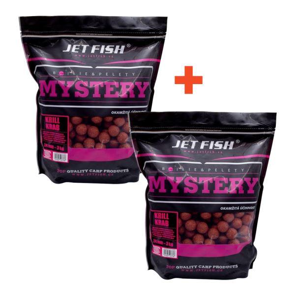Jet Fish Boilie Mystery Krill Krab 3 kg 1+1 Zdarma