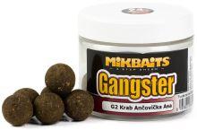 Mikbaits Boilies Gangster Extra Hard G2 Krab Ančovička Asa 300 ml-30 mm