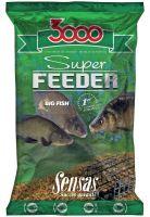 Sensas Krmení 3000 Super Feeder New 1 kg-lake black