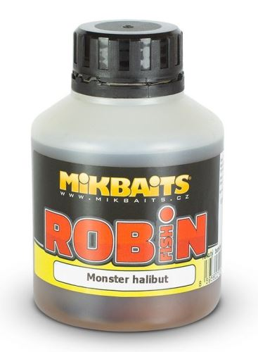Mikbaits Booster Robin Fish Monster Halibut 250 ml