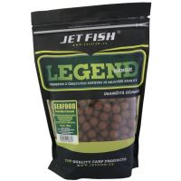 Jet Fish  Boilie Legend Range Seafood + Švestka / Česnek-1 kg 20 mm