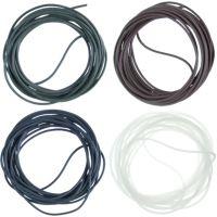 Gardner Hadičky Covert XT Silicone Tubing 0,5 mm 2 m-Brown