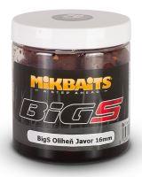 Mikbaits Boilies v Dipu BigS Oliheň Javor 250 ml-16mm