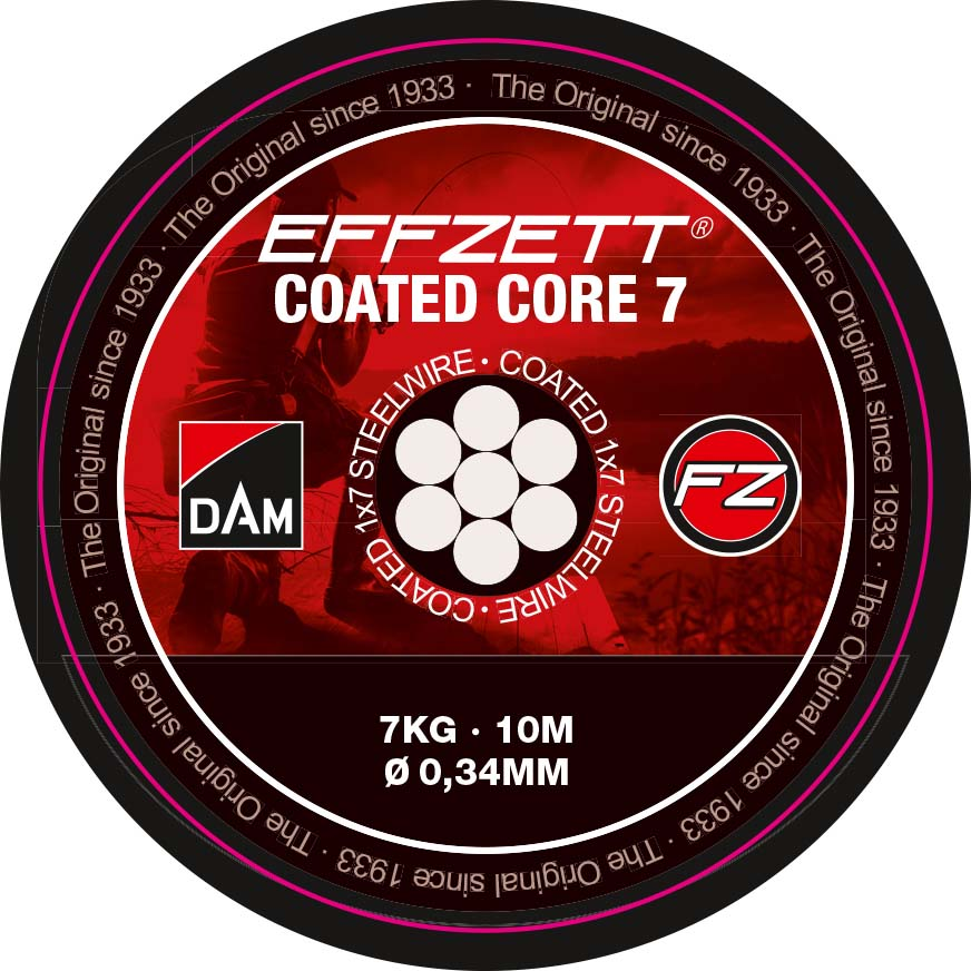 Dam lanko effzett coated core7 10 m - 20 kg