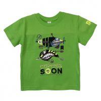 Doc Fishing Triko Dětské Třpytky Zelená - 12-158