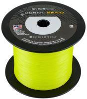 Spiderwire Splétaná Šňůra DURA4 Yellow-Průměr 0,12 mm / Nosnost 10,5 kg