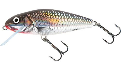 Salmo Wobler Perch Floating Holographic Grey Shiner