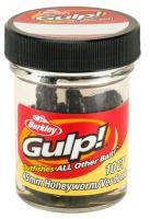 Berkley Umělé Nástrahy Gulp Honey Worm-Black 4,5 cm