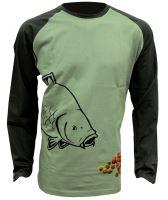 Zfish Tričko Boilie T-Shirt Long Sleeve-Velikost M