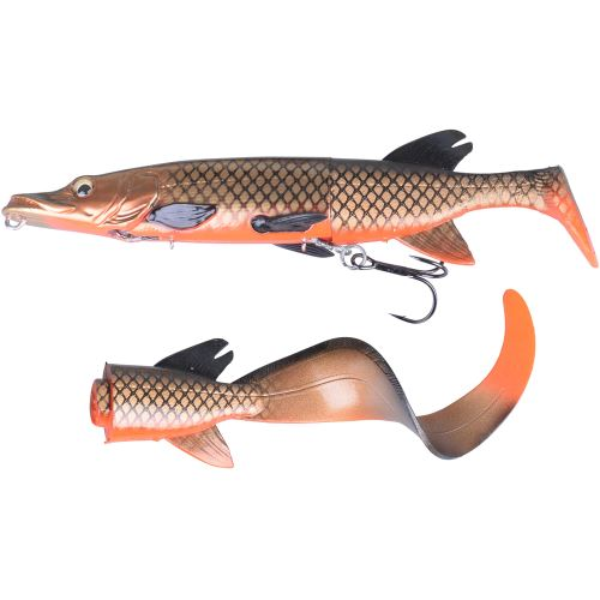 Savage Gear Gumová Nástraha 3D Hybrid Pike Red Copper Pike