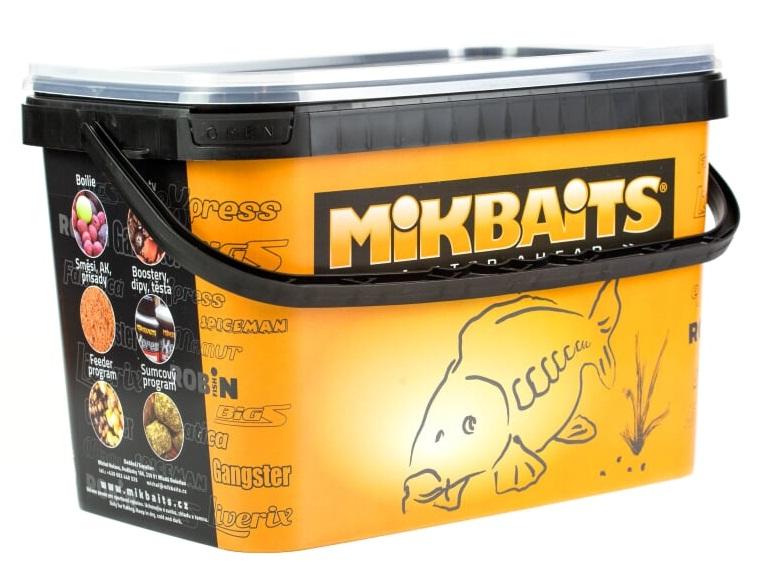 Mikbaits boilie liverix mazaná škeble 10 kg 20 mm