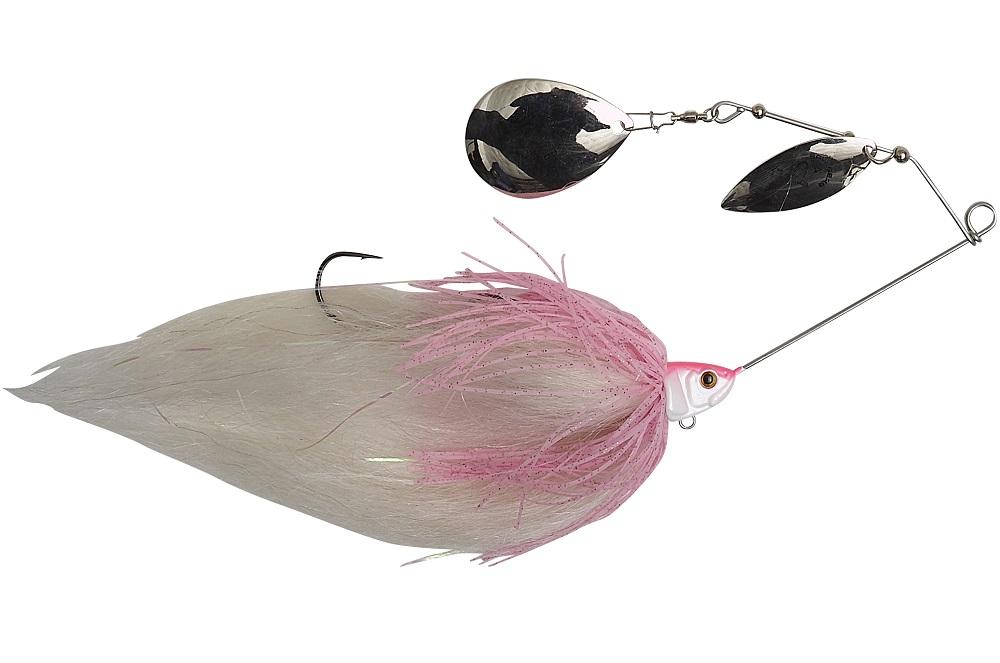 Savage gear třpytka da mega bush pink white - 55 g