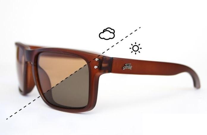 Fortis polarizační brýle bays brown switch