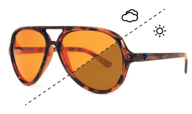 Fortis polarizační brýle aviator switch