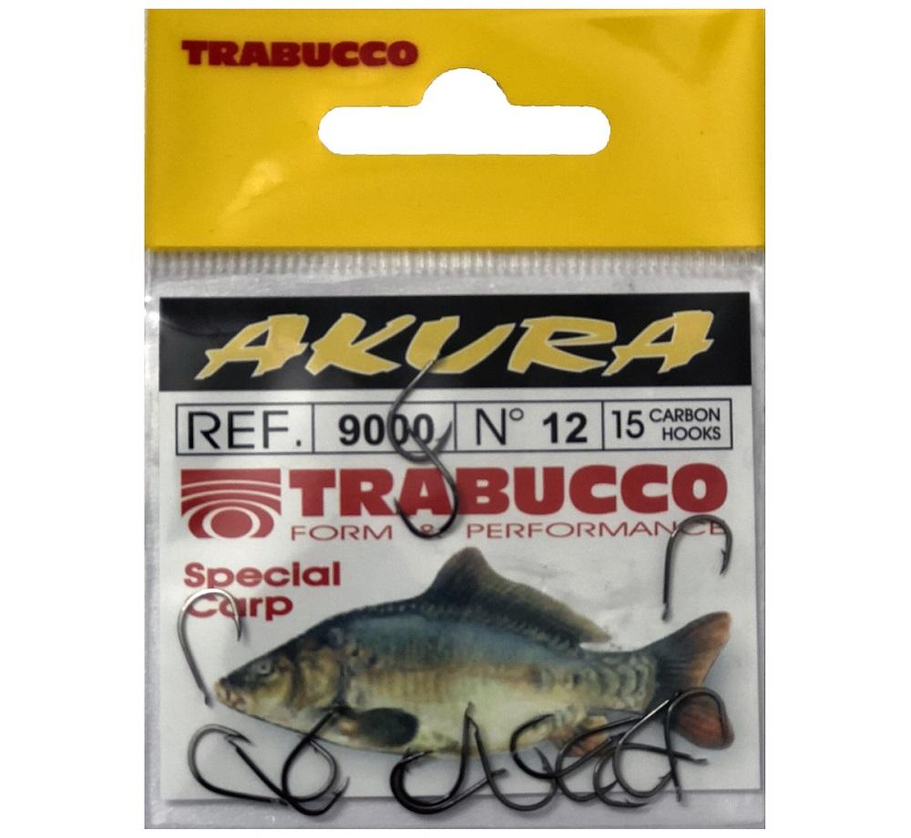 Trabucco háčky akura 9000 15 ks-velikost 1