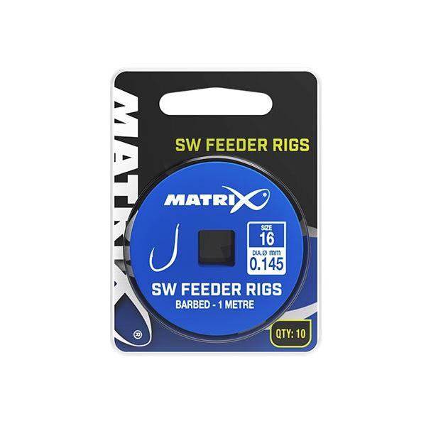 Matrix Návazec SW Feeder Rigs 1 m 10 ks