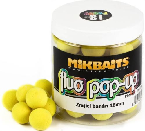 Mikbaits Plovoucí Boile Fluo 250 ml 18 mm