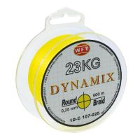 WFT Splétaná Šňůra Round Dynamix KG Žlutá - 150 m 0,10 mm 10 kg