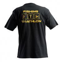 Doc Fishing Triko Triathlon Černá - M