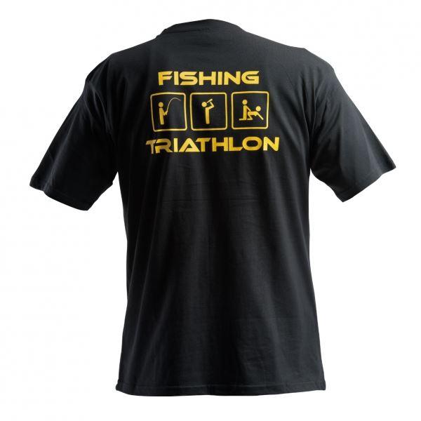 Doc Fishing Triko Triathlon Černá