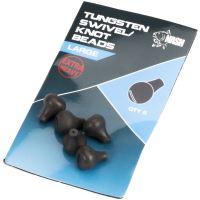 Nash Zarážka Na Obratlík Tungsten Swivel Beads-Large