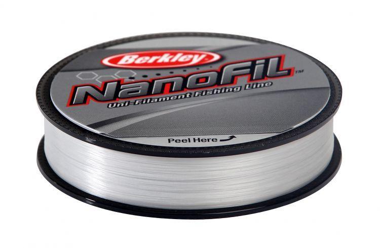 Berkley vlasec nanofil clear 125 m-průměr 0,20 mm / nosnost 12,649 kg