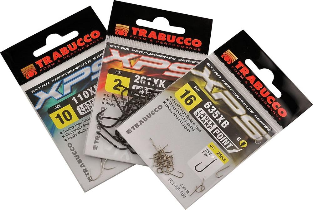Trabucco háčky xps 110 xn 25 ks-velikost 10