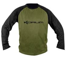 Korum Triko Dri-Active Long Sleeve Tshirt - L
