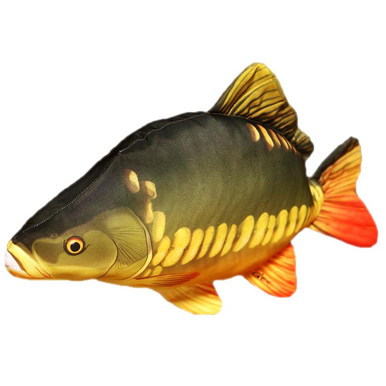 Levně Gaby plyšová ryba kapr lysec 61 cm