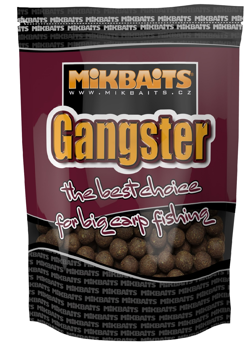 Mikbaits boilies gangster 10 kg 24 mm-g4 squid octopus