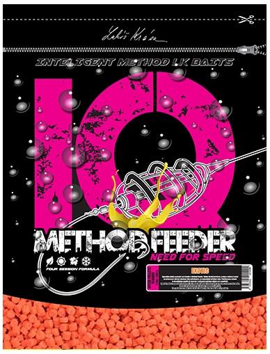 Levně Lk baits pelety iq method feeder speed fluoro exotic-600 g 4 mm