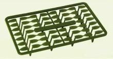 Extra Carp zarážky pellet holder Zelená-13mm