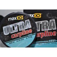 Maxxo Vlasec Ultra Carpline 600 m-Průměr 0,30 mm / Nosnost 8,7 kg / Barva ORANGE