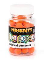 Mikbaits Mini Plovoucí Boilie Fluo 60 ml 10 mm-Půlnoční Pomeranč