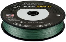Spiderwire Splétaná Šňůra DURA4 150 m Green-Průměr 0,25 mm / Nosnost 23,2 kg