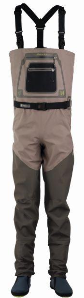 Hodgman prsačky aesis sonic stocking foot bronze/olive-velikost lt
