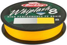 Berkley Splétaná Šňůra Whiplash 8 150 m Yellow-Průměr 0,18 mm / Nosnost 22,9 kg