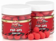 Dynamite Baits pop-ups fluro plovoucí boilies 15 mm Robin Red