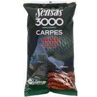Sensas Krmení Carpes 3000 1 kg-Kapr Červený