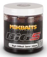Mikbaits Boilies v Dipu BigS Oliheň Javor 250 ml-20mm
