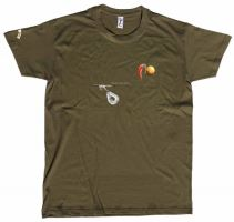 Carp´R´Us Tričko Mouthsnagger Army Zelená-Velikost L