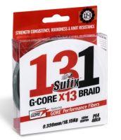 Sufix Splétaná Šňůra 131 G-Core Málo Viditelná Zelená 150 m-Průměr 0,128 mm / Nosnost 6,8 kg