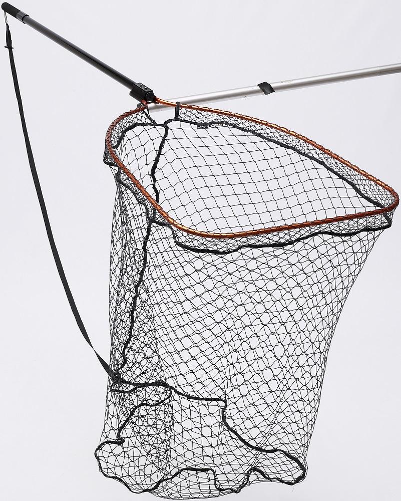 Savage gear podběrák full frame net rubber x large mesh - velikost xl 85x70 cm, tr. délka