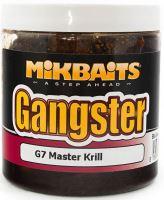 Mikbaits  Boilies v dipu  Gangster 250 ml -G7 master krill 20mm