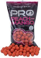 Starbaits Boilies Probiotic Peach Mango + N-Butyric-1 kg 14 mm